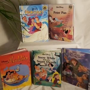 Disney Collectors Children's Books (set of 5!)